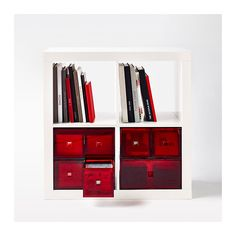 LEKMAN Mini chest with 2 drawers  - IKEA - fits KALLAX shelving system.  Available in Tempe, AZ but only in Red.  :(