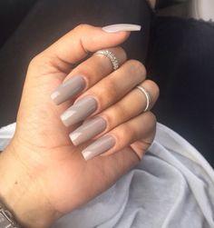 Beautiful and perfect square nail designs Long Square Nails, Tapered Square Nails, Square Acrylic Nails, Acrylic Nail Designs, Nail Art Designs, Sns Nails Colors, Square Nail Designs, Nail Shapes Square, Ballerina Nails