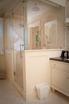 Cardone Contracting - Luxury Home Builders - Denville, Morris County, NJ OH MY, check out the pull on the vanity! Room is so lovely.