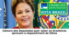 .: VOTE AGORA: Dilma deve ser retirada imediatamente?