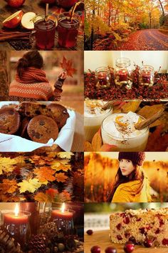 Hot apple cider, changing color of the leaves, sweaters, lattes....