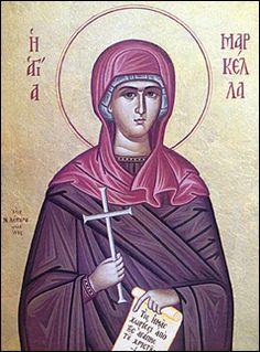 St. Markella Martyr of Chios. My patron saint.