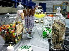 Throw a Harry Potter party with delicious candy and baked goods!  Holding a Harry Potter themed party is a very worthwhile, memorable experience. If you want it to be truly amazing, you're going to put in a lot of time, but from holding my own Harry Potter event I can say it's definitely worth the commitment.