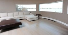 Gray; Southampton - contemporary - wood flooring - new york - Woodwrights Wide Plank Flooring