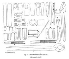 Bygland tools - I'm surprisingly not far from having all these already
