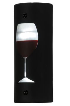5 Inch W Metro Fusion Vino Up And Downlight Led Wall Sconce - 5 Inch W Metro Fusion Vino Up And Downlight Led Wall Sconce Theme: ART GLASS CONTEMPORARY Product Family: Metro Fusion Vino Product Type: WALL SCONCES Product Application: LED -- WALL SCONCE Color: BLACK/CLEAR CAB WINE GLASS SANDBLASTED Bulb Type: MED Bulb Quantity: 2 Bulb Wattage: 4 Product Dimensions: 12H x 5W x 3.75DPackage Dimensions: NABoxed Weight: 3.5 lbsDim Weight: 36 lbsOversized Shipping Reference: NAIMPORTANT NOTE…