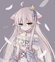 Find images and videos about cute, anime and kawaii on We Heart It - the app to get lost in what you love. Anime Wolf Girl, Anime Girl Neko, Anime Child, Cute Anime Chibi, Anime Girl Cute, Chica Anime Manga, Anime Neko, Anime Art Girl, Anime Girls