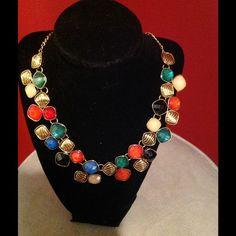 Multi-Color Statement Necklace Multi-Color Statement Necklace Jewelry Necklaces