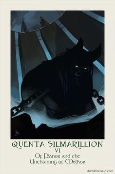 Silmarillion Chapter 6: Of Fëanor and the Unchaining of Melkor -  The Silmarillion Project - illustrations by Dresden Codak