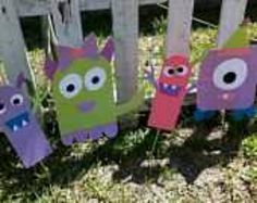 Monster decorations