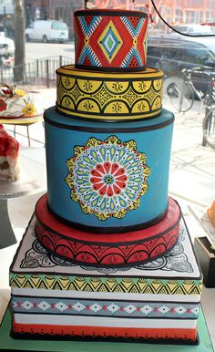 Henna Block Print by Alliance Bakery, via Flickr