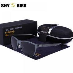 b9632314a57 Polarized Sunglasses Men 2018 new Aluminum Magnesium frame sun glasses for  men and driver coating mirror