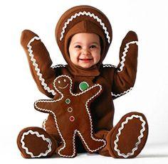 Baby Gingerbread Man Christmas Costume   ca $89