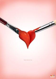 Dulux. Happy Valentine's Day.