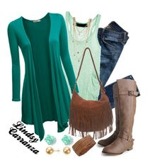 """""""Teal all Over"""" by lindsycarranza on Polyvore"""