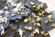 HOW TO: Make addictive, vegan, gluten-free chocolate bark using coconut oil | Inhabitots