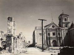 San Agustin Church, Manila. 1945