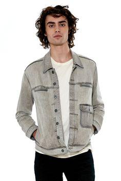 grey denim jackets