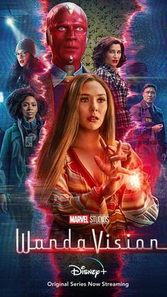#marvel #wandavision #scarletwitch #vision #feiticeiraescarlate #wandamaximoff Poster Marvel, Marvel Movie Posters, Disney Movie Posters, New Movie Posters, Disney Marvel, Marvel Fan, Marvel Avengers, Captain Marvel, Scarlet Witch Marvel