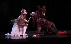 Pacific Northwest Ballet principal dancer Carla Korbes as Titania ...
