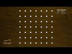 Padi Kolam with 7x7 dots | Margazhi Kolam | Dhanurmasam Muggulu | Make Rangoli - YouTube