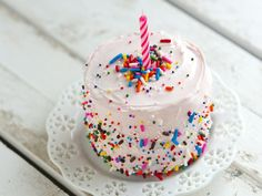 betty crocker mini brownie cakes! cute!
