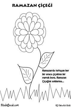 Ramazan Çiçeği Etkinliği | Karikatürler - Selam Çocuk