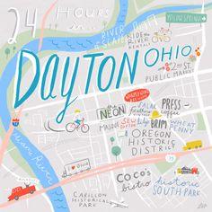 24 Hours in Dayton, OH - Design*Sponge  For the Fortener in me.
