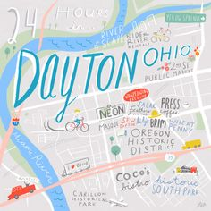 24 Hours in Dayton, OH - Design*Sponge  For the Fortener in me.