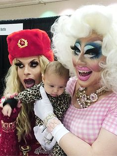 Tracy and Kathy lesbian couple of 3 years adopt baby girl to fulfill their mommy fantasies.