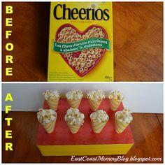 Cereal Box Treat Holder