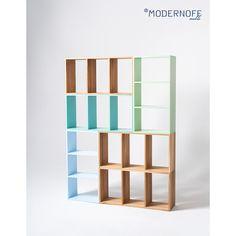 Szukacie rozwiązania, które pomieści książki, przybory szkolne i inne szpargały? Wykorzystajcie regał modułowy ModuleTon! Można go rozbudowywać bez końca i dostosować do przestrzeni.  Do wyboru 4 kolory: naturalny, miętowy, turkusowy i błękitny. Tylko do końca sierpnia w promocji -10%!   fot. @wasabi.studio