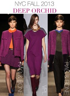 NYC Fashion Week...Fall 2013 Trends