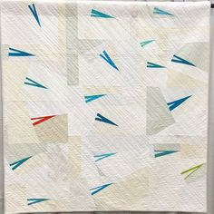 """""""Shoot That Poison Arrow"""" quilt by Hollie Lobosky. (QuiltCon 2015!)"""