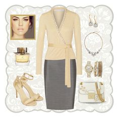 """""""Buttery yellow"""" by puppylove7 on Polyvore featuring MaxMara, JustFab, Diane Von Furstenberg, MICHAEL Michael Kors, Jessica Carlyle, Old Navy, Anne Klein, ALDO and Burberry"""