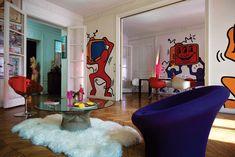 Casinha colorida: Cores e Pop Art