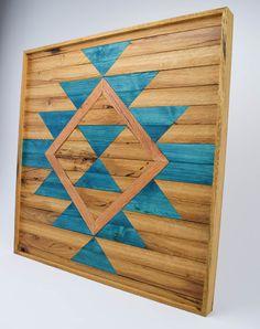 Reclaimed Wood Wall Art Wooden Wall Art von RoamingRootsWoodwork