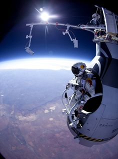 Jumping from 13.6 miles up