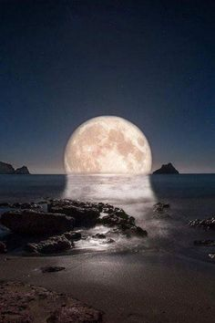 A Lunar reflection...