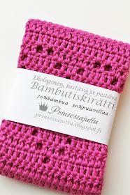 Prinsessajuttu: Virkattu tiskirätti, OHJE x 6 Crochet Home, Knit Crochet, Crochet Doilies, Merino Wool Blanket, Handicraft, Diy And Crafts, Projects To Try, Crochet Patterns, Card Holder