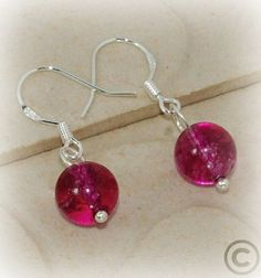 Dragon Veins Agate Dangles, Gemstone Earrings | JanellDunlapJewelryDesigns - Jewelry on ArtFire