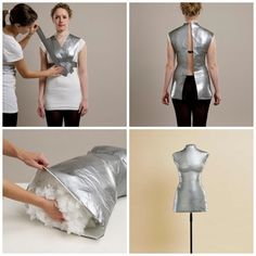 How to make your own dress form