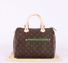 Louis Vuitton Monogram M95180 Speedy 30 Green
