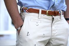 Anchor pants.  Classy.