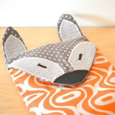 Microwaveable Heating Pad Rice Pack Microwave Warmer Fox Bag