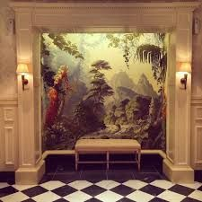 Image result for the savoy hotel bathroom mural
