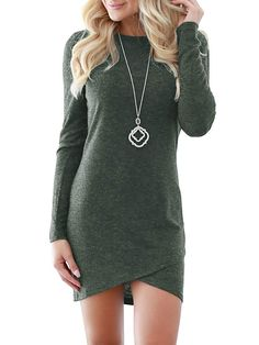 3226bcc826a Eurivicy Womens Sleeve Bodycon Dresses