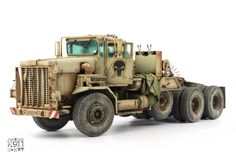 Andy Moore has finished the great big MENG C-HET & Semi-Trailer in scale in the sixth part of his guide with tips on const. Trailer Build, Semi Trailer, Plastic Model Kits, Plastic Models, Styrene Sheets, The Modelling News, Bull Bar, Front Grill