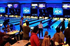 Family Movie Night ACME Bowling, Billiards and Events Seattle, WA #Kids #Events