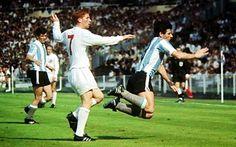 ILUSIÓN MUNDIAL: Inglaterra 1 Argentina 0